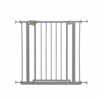 Hauck Trigger Lock Safety Gate (silver)