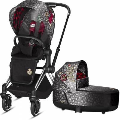 Cybex Priam Lux Rebellious Carry Cot Platinum Collection 2019